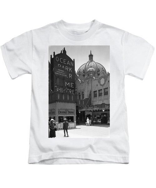 Ocean Park Pier 1920 Kids T-Shirt