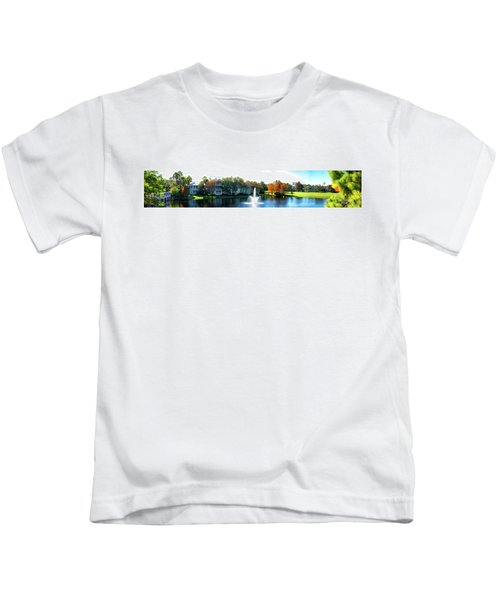 Old Key West Resort Panorama Walt Disney World Kids T-Shirt