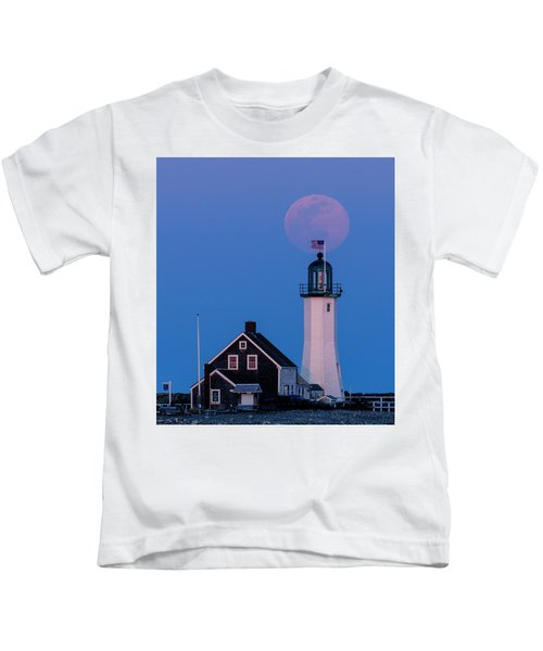 Old Scituate Light Kids T-Shirt