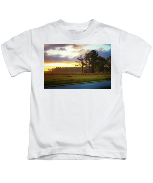 Onc Open Road Sunrise Kids T-Shirt