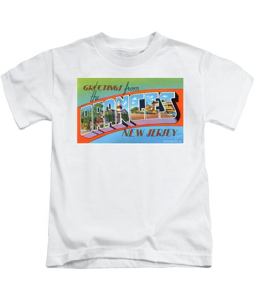 Oranges Greetings Kids T-Shirt
