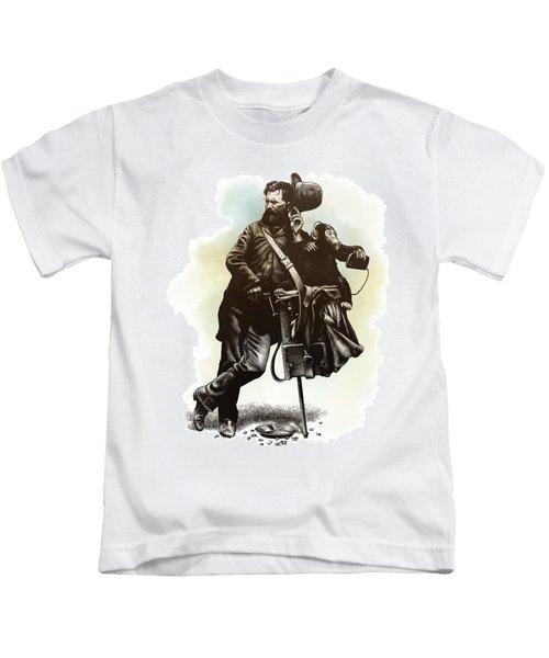 Organ Grinder Kids T-Shirt