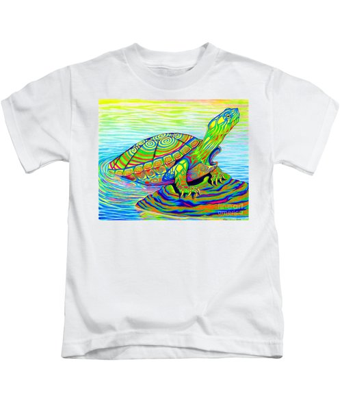 Painted Turtle Kids T-Shirt