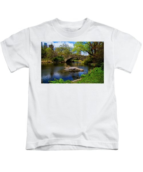 Park Bridge2 Kids T-Shirt