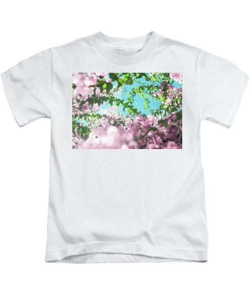 Floral Dreams II Kids T-Shirt