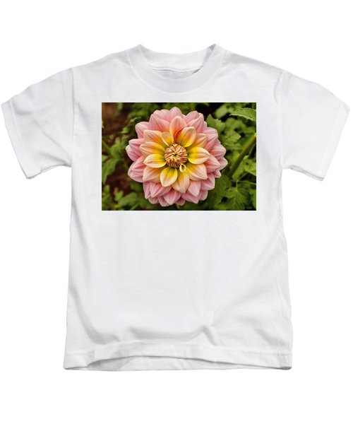 Pink And Yellow Kids T-Shirt