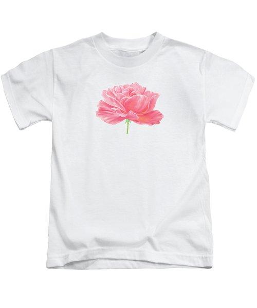 Pink Rose Kids T-Shirt
