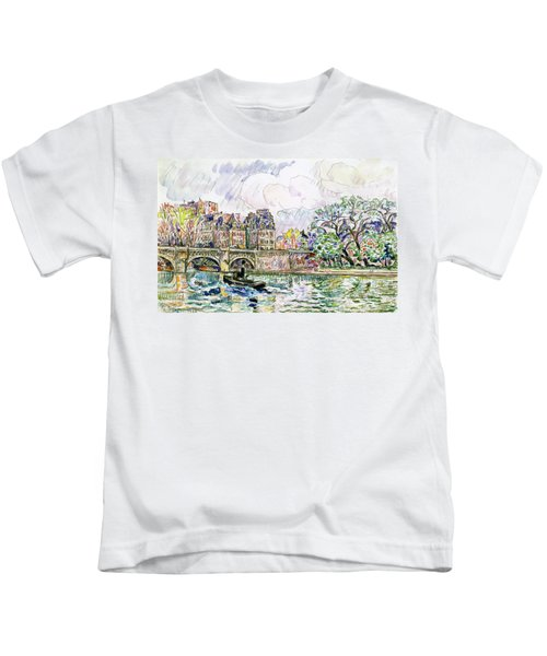 Place Dauphine - Digital Remastered Edition Kids T-Shirt