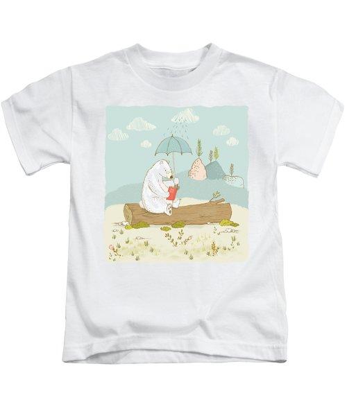 Polar Bear Vacation I Kids T-Shirt