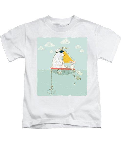 Polar Bear Vacation IIi Kids T-Shirt