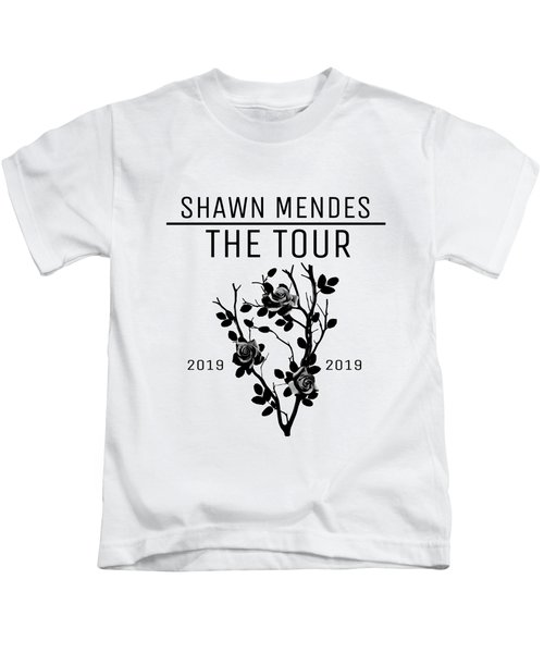 869a1abc Poster Shawn Mendes The Tour Drstore Kids T-Shirt