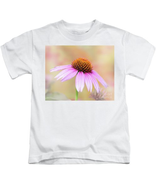 Pretty Pink Echinacea Kids T-Shirt