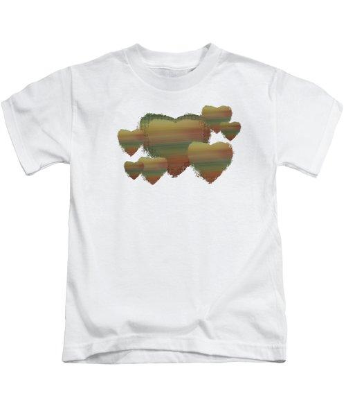 Rainbow Hearts Kids T-Shirt