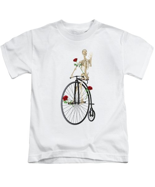 Rambling Rose Stroll Kids T-Shirt