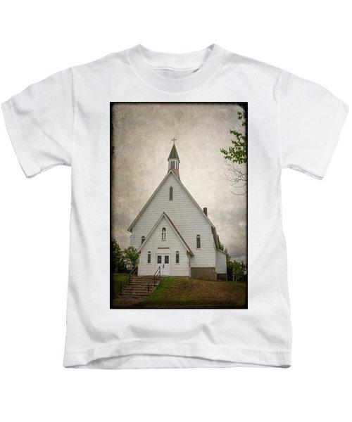 Raquette Lake Chapel Kids T-Shirt