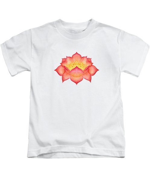 Red Lotus Kids T-Shirt