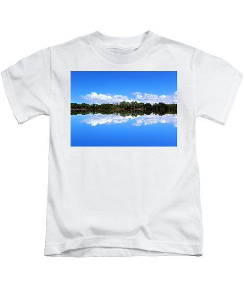 Reflective Lake Patricia Kids T-Shirt
