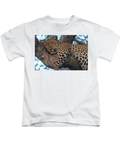 Relaxed Leopard Kids T-Shirt