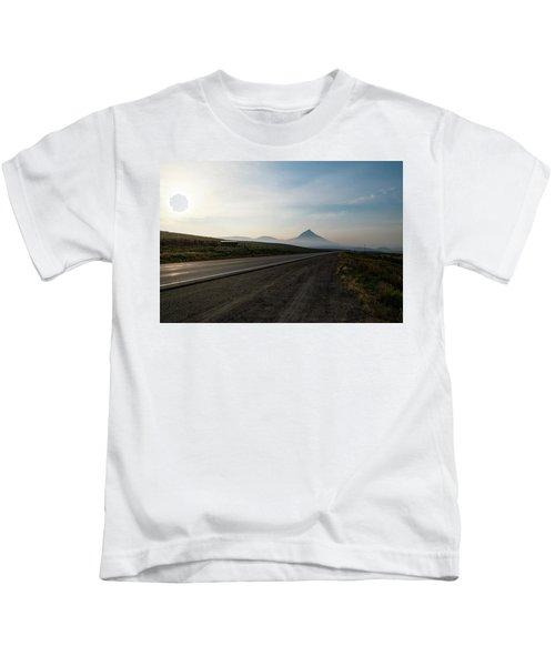 Road Through The Rockies Kids T-Shirt