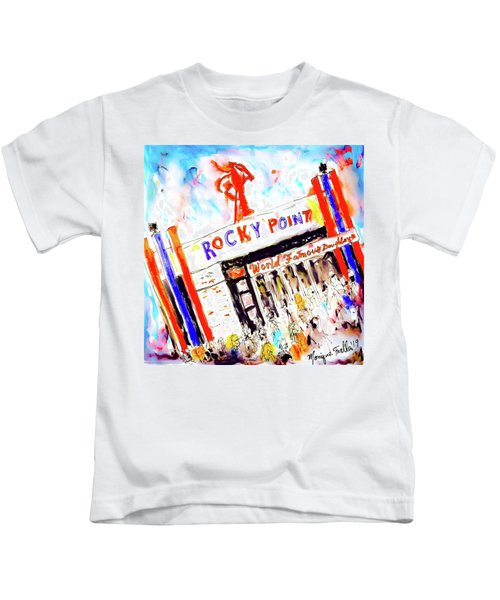 Rocky Point Chowder House Kids T-Shirt