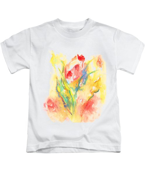 Rose Garden One Kids T-Shirt