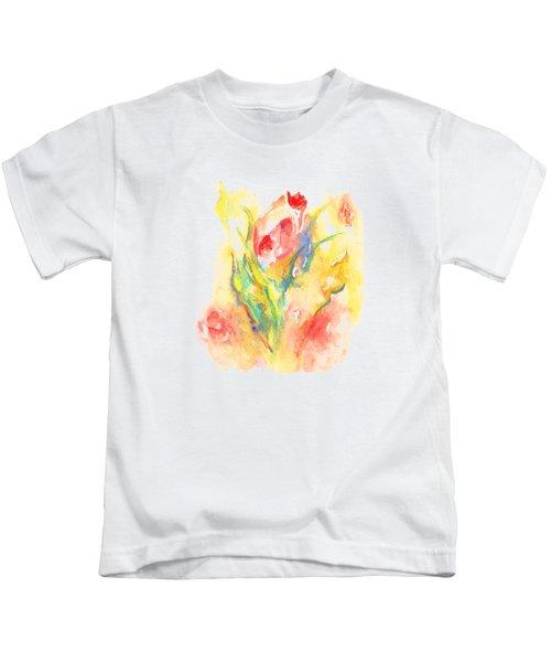 Rose Garden One Kids T-Shirt