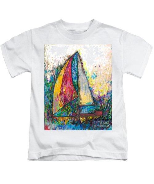 Rough Sailing Kids T-Shirt