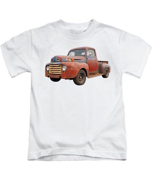 Rusty Ford Farm Truck Kids T-Shirt