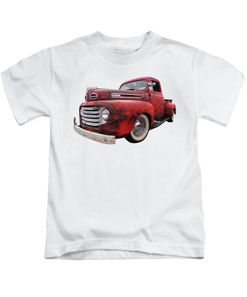 Rusty Jewel - 1948 Ford Kids T-Shirt