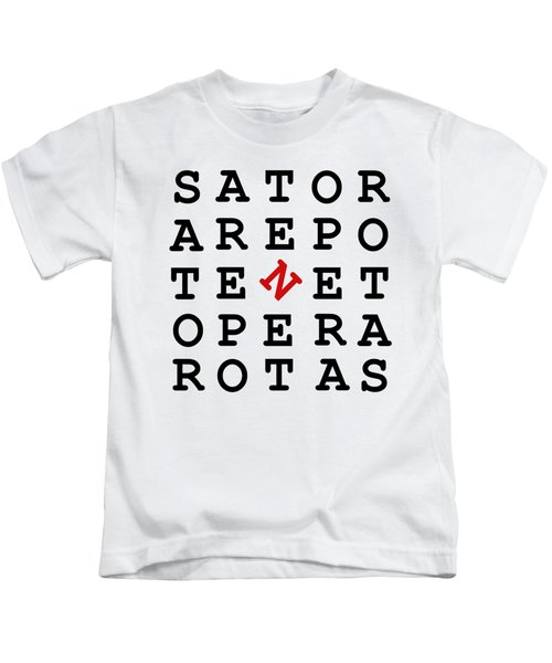 Sator Square Kids T-Shirt