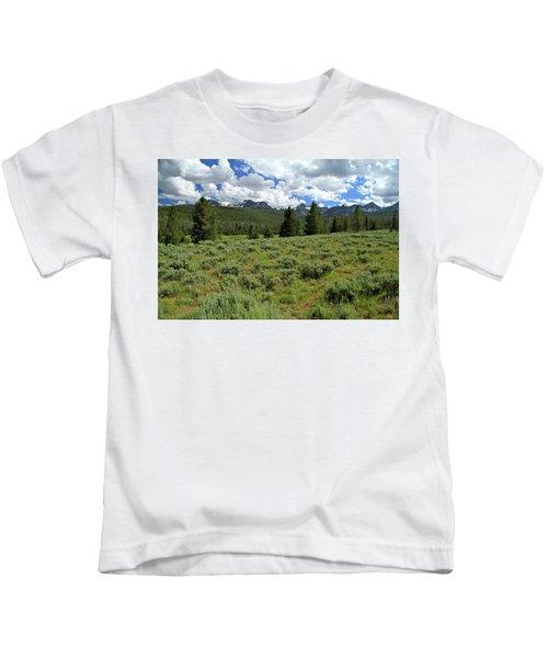 Sawtooth Range Crooked Creek Kids T-Shirt