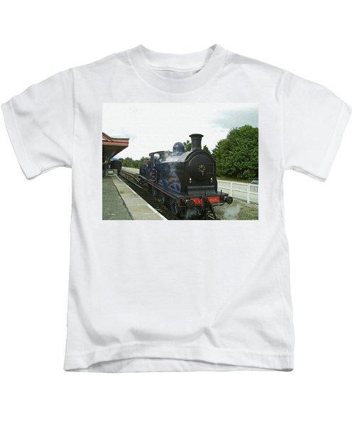 Scotland. Aviemore. Strathspey Railway. Kids T-Shirt