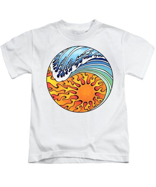 Seeking Balance Kids T-Shirt