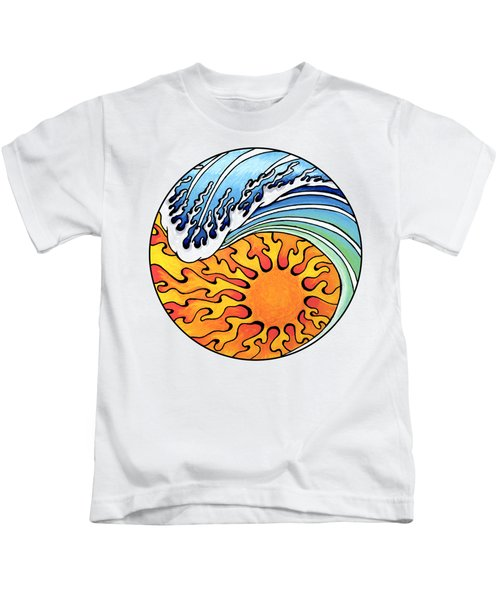 Seeking Balance Kids T-Shirt