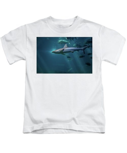 Shark Attack Kids T-Shirt