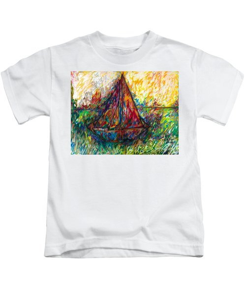 Ship In Color Kids T-Shirt