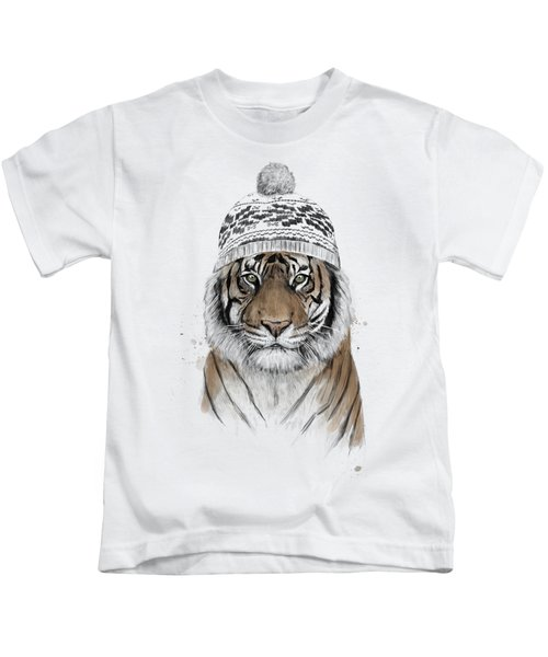 Siberian Tiger Kids T-Shirt