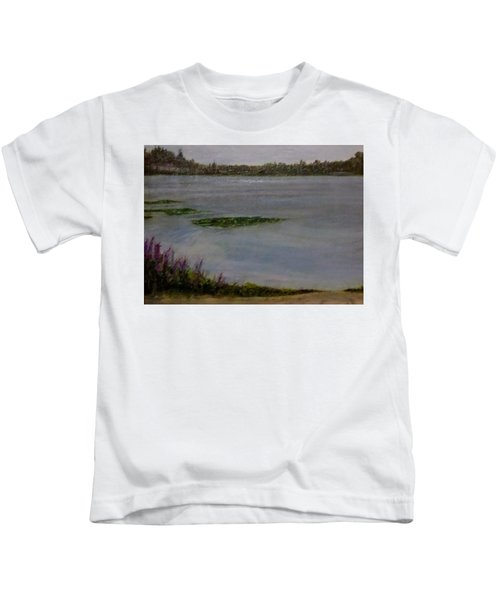 Silver Lake During The Wildfires Kids T-Shirt