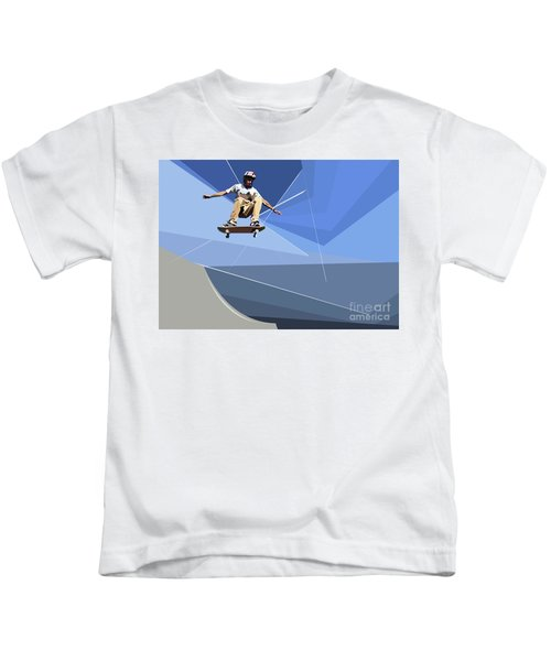 Skateboarder Kids T-Shirt