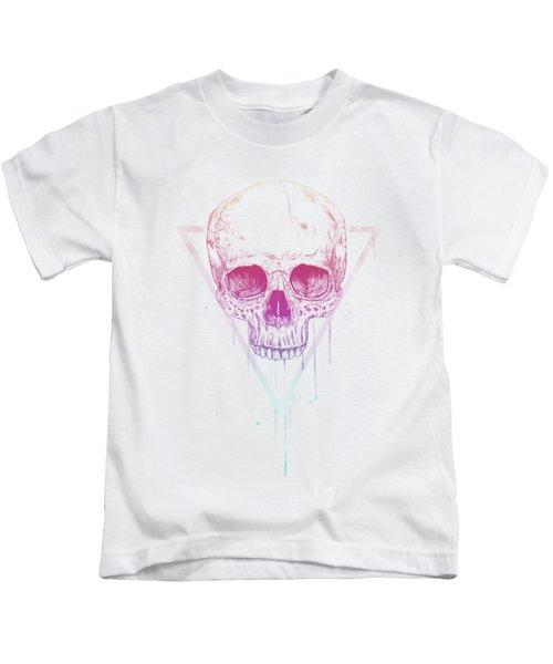 Skull In Triangle Kids T-Shirt