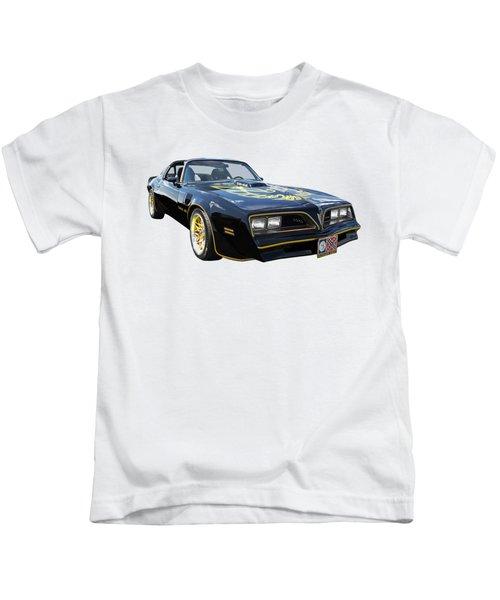 Smokey And The Bandit Trans Am Kids T-Shirt