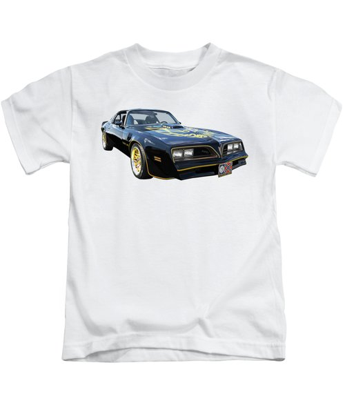 Smokey And The Bandit Trans Am Kids T-Shirt