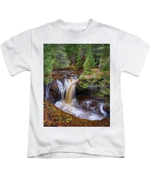 Snake Pit Falls Kids T-Shirt