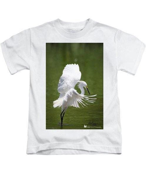 Snowy Dance Kids T-Shirt