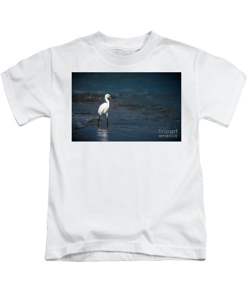 Snowy In The Surf Kids T-Shirt