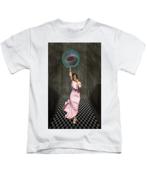 Soap Bubble Kids T-Shirt