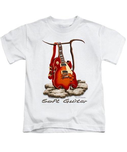 Soft Guitar - 3 Kids T-Shirt