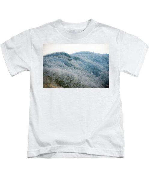 Soft Hoarfrost Kids T-Shirt