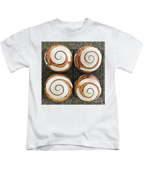 Sourdough Spirals X 4 Kids T-Shirt
