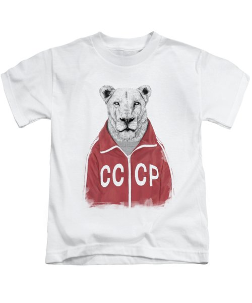 Soviet Lion Kids T-Shirt